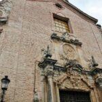 Portada de la iglesia de la Santísima Trinidad en Guadalupe