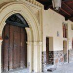 Galería mudéjar en Guadalupe en Extremadura