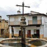 Plazuela y Fuente de los Tres Chorros en Guadalupe