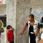 Visitas guiadas para ver el arte en el Metro de Estocolmo