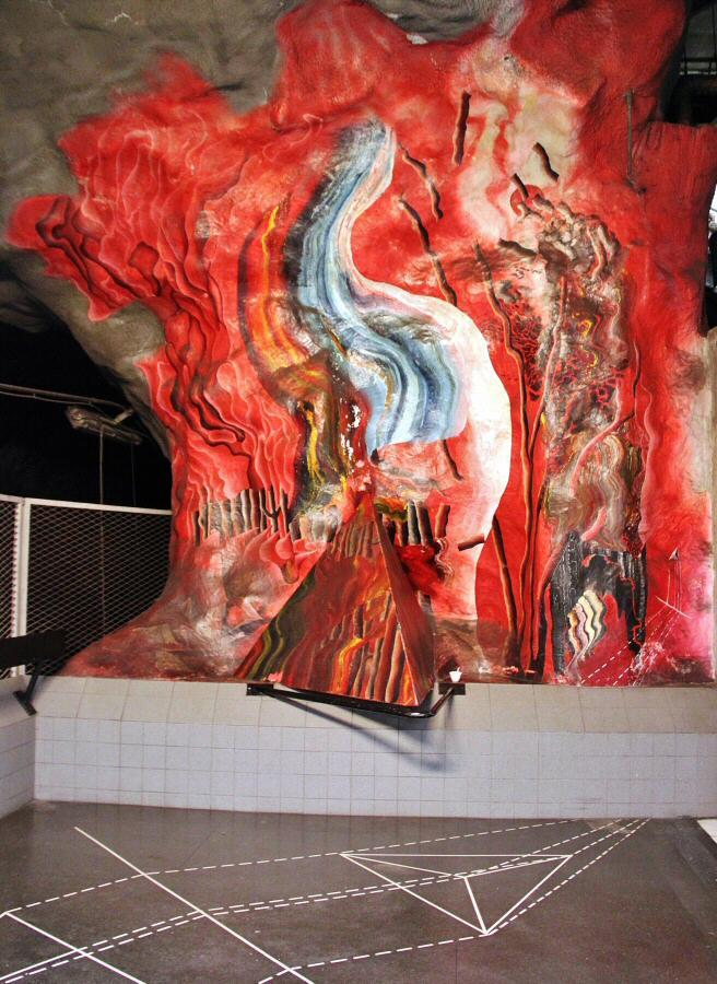 Arte en metro de estocolmo gu as viajar - Metro de estocolmo ...