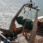 Barcos de pesca en el puerto de San Carlos de la Rápita en Tarragona