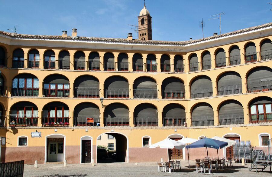 Plaza de Toros Vieja de Tarazona en Aragón