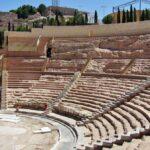 Gradas del teatro romano de Cartagena en Murcia