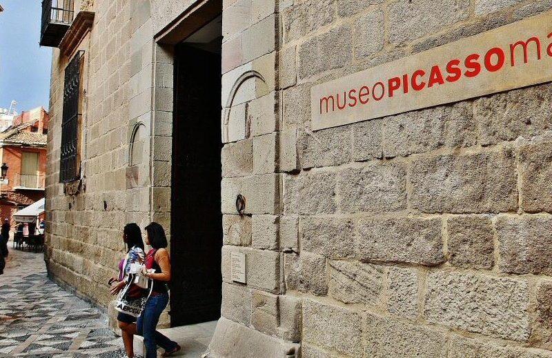 Museo Picasso de Málaga en Andalucía