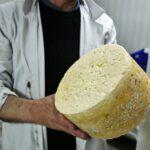 Luis Alberto Alles explica el proceso de elaboración del queso de Bejes