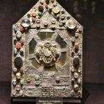 Relicario del Tesoro de la Abadía de Conques en Aveyron al sur de Francia