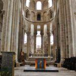 Altar Mayor de la Abadía de Conques en Aveyron al sur de Francia