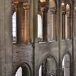 Galerías laterales de la Abadía de Conques al sur de Francia
