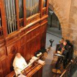 Organo de la Abadía de Conques al sur de Francia