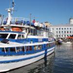 Crucero panorámico en el puerto de la plaza del Mercado de Helsinki