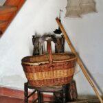 Interior de la tradicional barraca valenciana en la Albufera