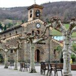 Iglesia de Santa Eulalia de Ujo en la Montaña Central de Asturias