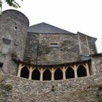 Casa del Gobernador en Najac en Aveyron al sur de Francia