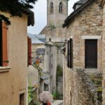 Rincón de Najac en Aveyron al sur de Francia