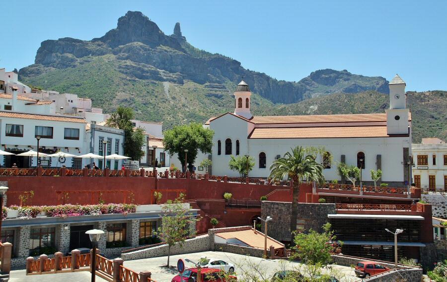 Tejeda en el interior de la isla de Gran Canaria