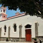 Iglesia de Nuestra Señora del Socorro en Tejeda en la isla de Gran Canaria