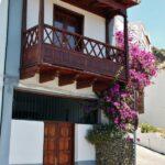 Arquitectura tradicional canaria en Tejeda en la isla de Gran Canaria