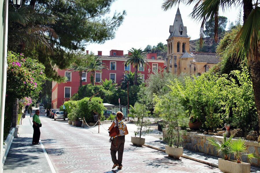 Complejo de hoteles del Balneario de Archena en Murcia