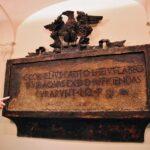 Lápida romana en Balneario de Archena en Murcia