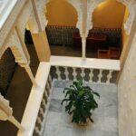 Patio interior en Hotel Termas del Balneario de Archena en Murcia