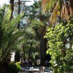 Jardines del Bar Casino del Balneario de Archena en Murcia