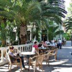 Terraza del Bar Casino del Balneario de Archena en Murcia
