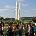 Cohete Ariane 5 en la Ciudad del Espacio en Toulouse