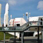 Estación soviética Mir en la Ciudad del Espacio en Toulouse