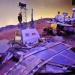 Naves de exposición de Marte en la Ciudad del Espacio en Toulouse