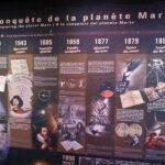 Exposición de Marte en la Ciudad del Espacio en Toulouse