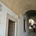 Cañón de la Cárcel en la plaza Mayor de Trujillo en Extremadura