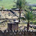 Restos arqueológicos de Medina Azahara cerca de Córdoba