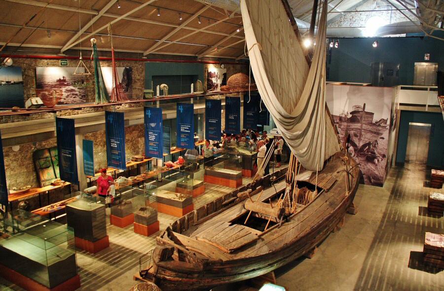 Museo de la Pesca en Palamós en Bajo Ampurdán en Costa Brava