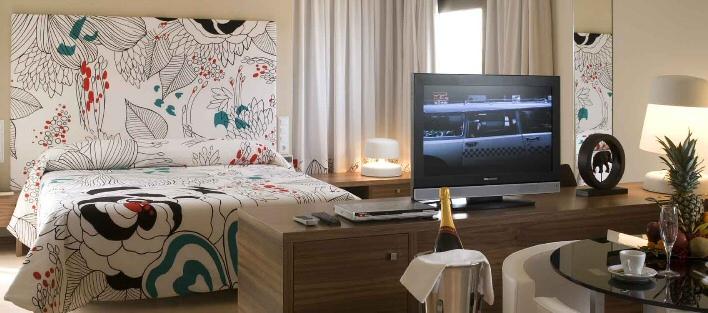 Habitación Suite del hotel SPA Executive Sport en Murcia