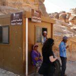 Entrada al desfiladero Siq de Petra en Jordania