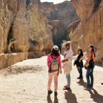 Desfiladero Siq de Petra en Jordania
