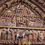 Tímpano del Pörtico de la iglesia de Santa María de Laguardia