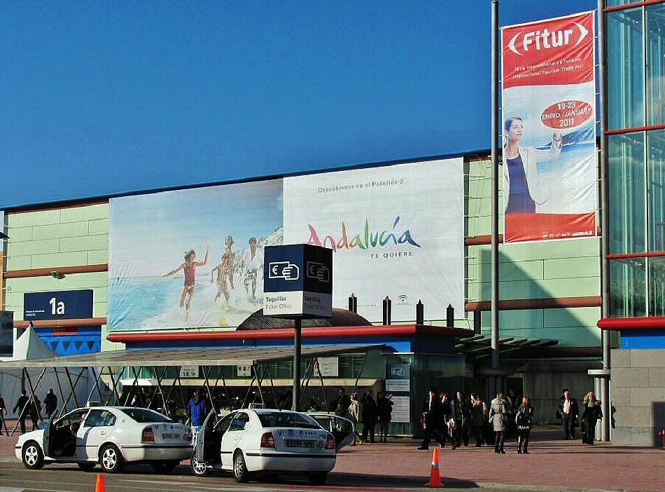 Feria de turismo Fitur en Madrid