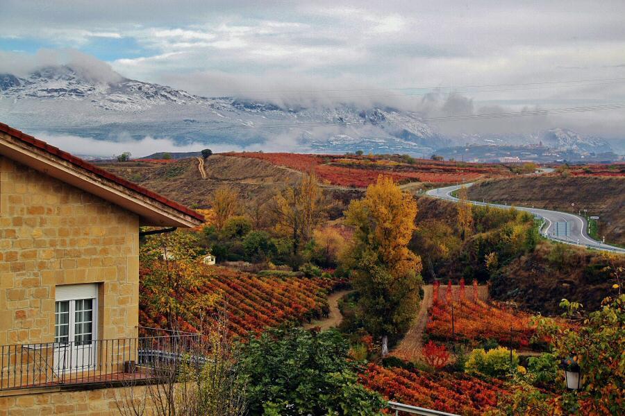 Viaje enoturismo a rioja alavesa gu as viajar - Imagenes paisajes otonales ...