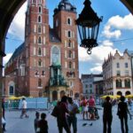 Plaza del Mercado en Cracovia