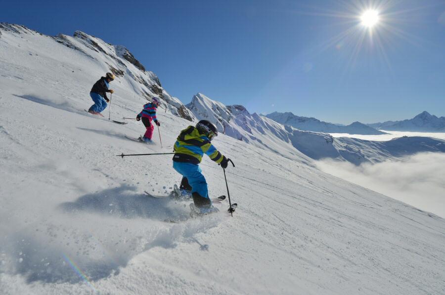 Esquí en Hastiberg en Suiza @swiss-image.ch Christian Perret