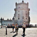 Torre de Belem en los alrededores de Lisboa