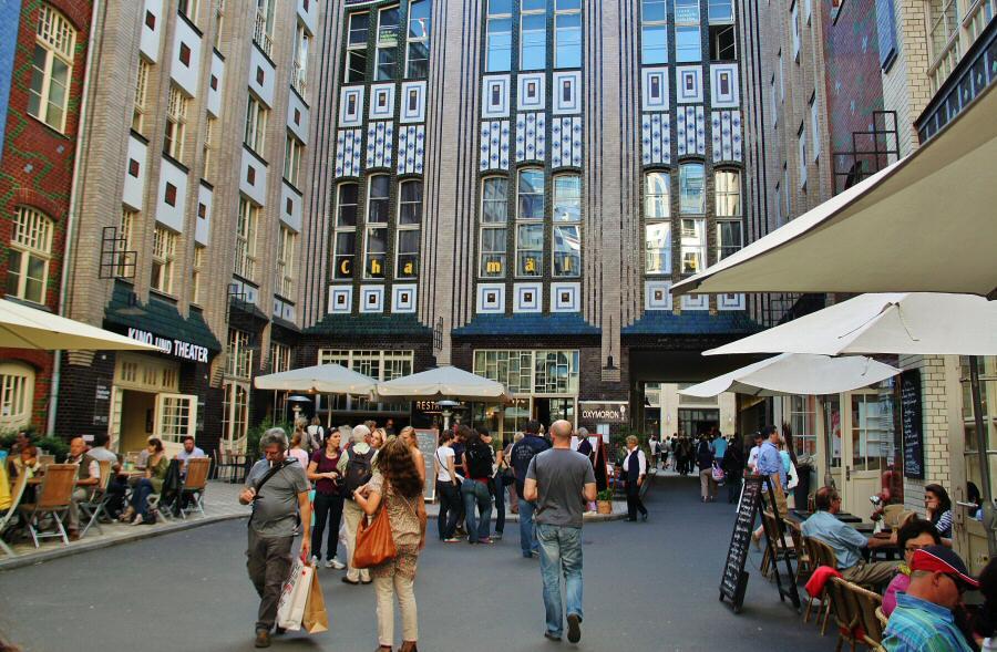 Patios Hackesche Hofe del Barrio Judío de Berlín