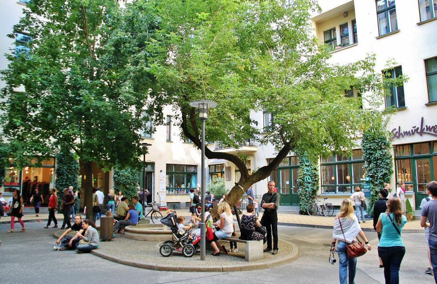 Patio Berlin patios barrio judío de berlín guías viajar