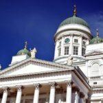 Fachada de la Catedral de Helsinki