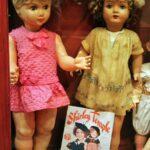 Muñeca Shirley Temple en el museo de Castell de Aro en el Ampurdán
