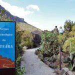 Necrópolis de Arteara en el Barranco de Fataga en Gran Canaria