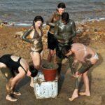 Tratamiento de barro en el Mar Muerto en Jordania