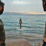 Rebozados con barro del Mar Muerto en Jordania